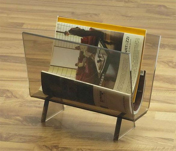 new design brochure acrylic holder template