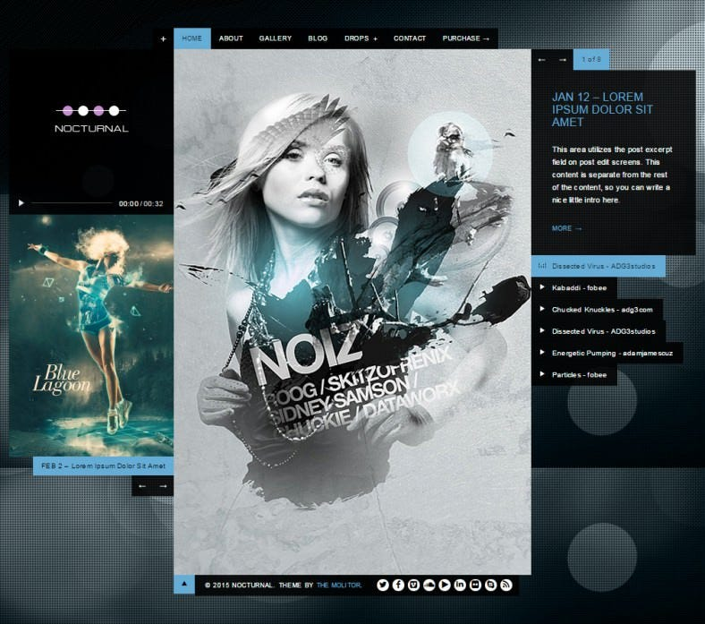 nocturnal premier audio wp theme 788x697