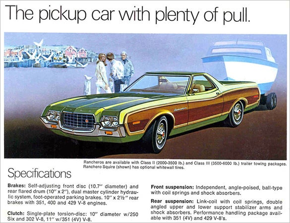 Old Car Brochures  Free Word Pdf Psd Eps Indesign Format