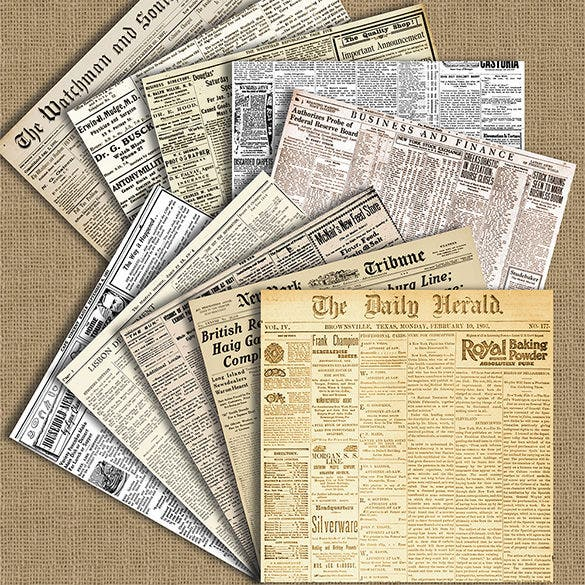 20 Old Newspaper Templates Psd Jpg Free Premium Templates