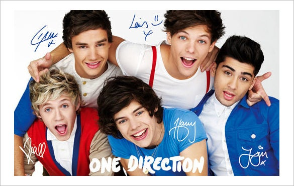 15 Best One Direction Posters Amp Designs Free Amp Premium