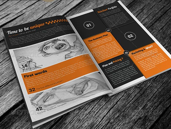 free online templates for brochures
