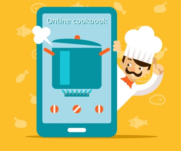 online cookbook word download