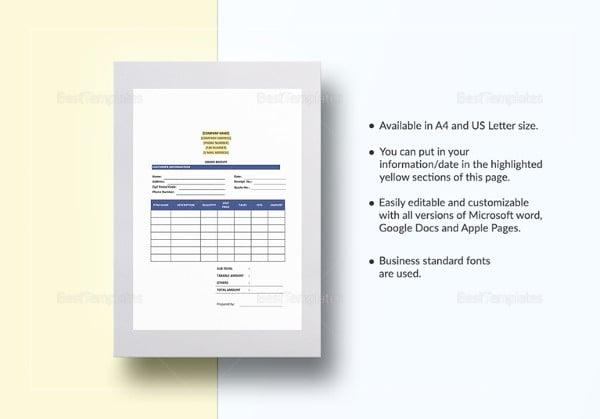 order receipt template4