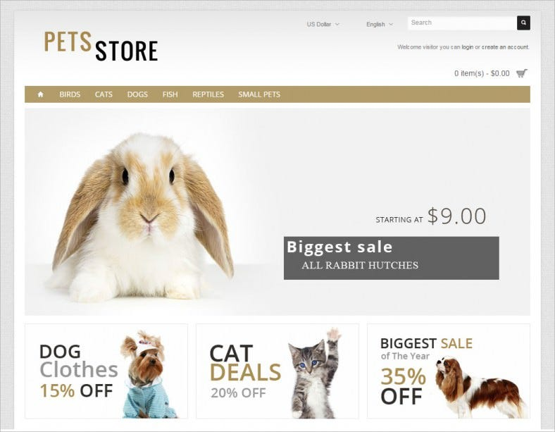 pets store opencart 788x613