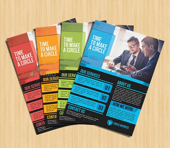Company Flyer Templates PSD EPS Word Files Download - Company brochure templates free download