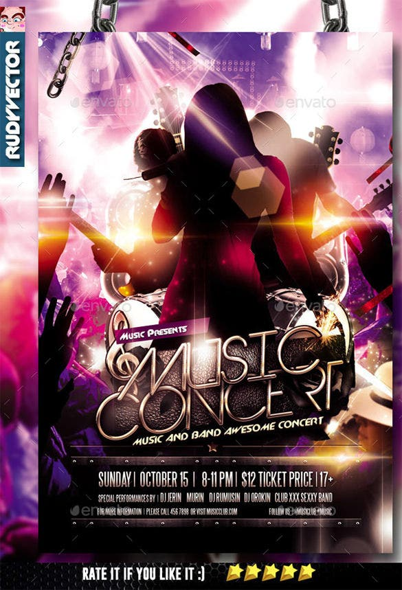 16+ Psd Band Flyer Templates U0026 Designs! | Free U0026 Premium Templates