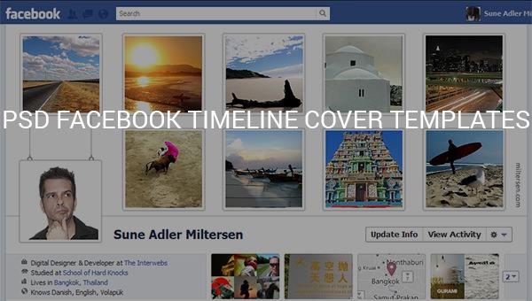 psd facebook timeline cover templates.