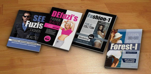 psd magazine cover template download 20