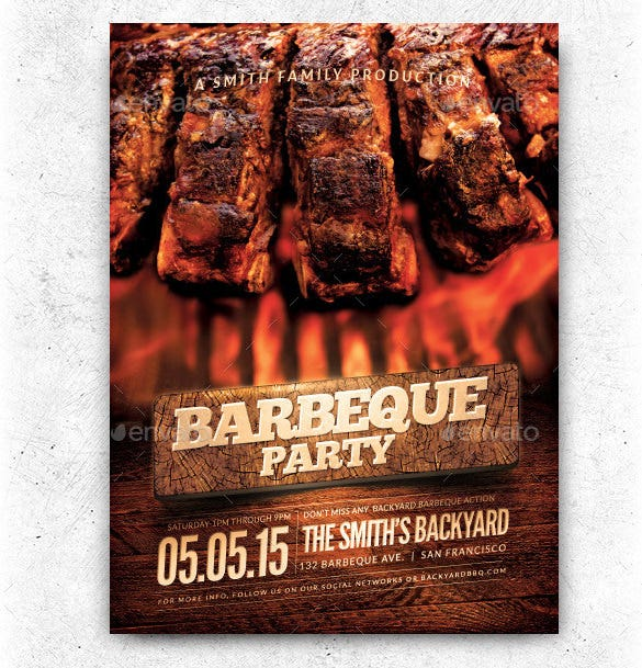 20  bbq flyer templates  u2013 free word  pdf  psd  eps