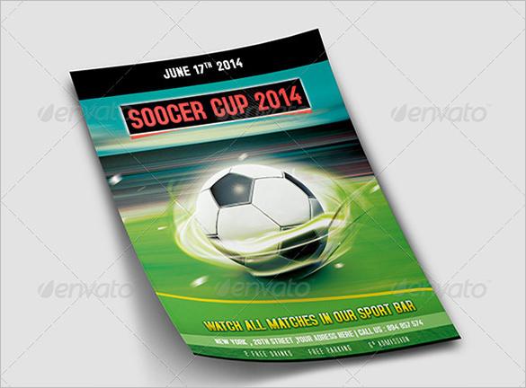 psd soccer flyer template 6