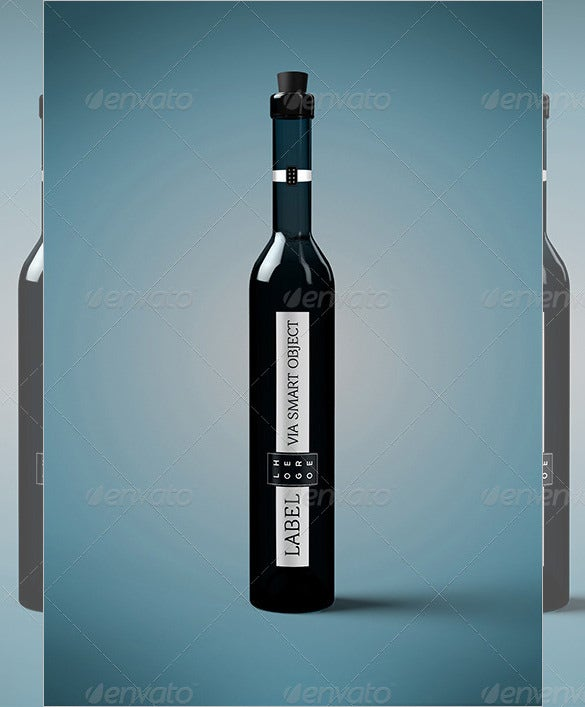 palinka water bottle template