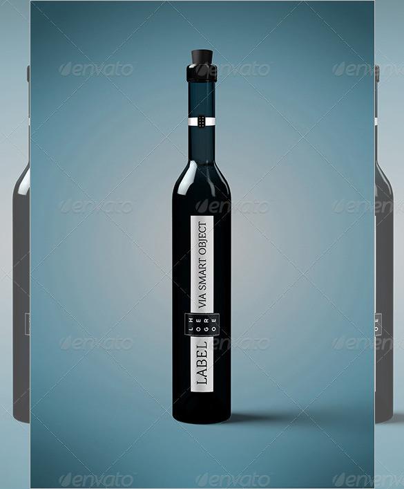 palinka water bottle template