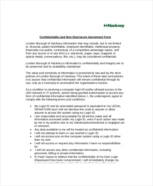 patient non disclosure and confidentiality agreement2