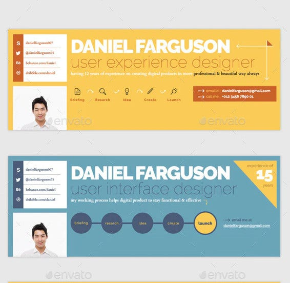 personal branding facebook timeline cover template