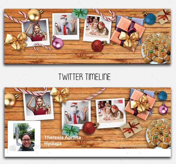 personal christmas timeline template