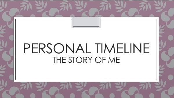 personaltimelinetemplate