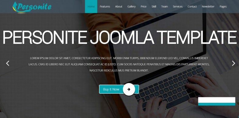 personite onepage joomla template 788x388