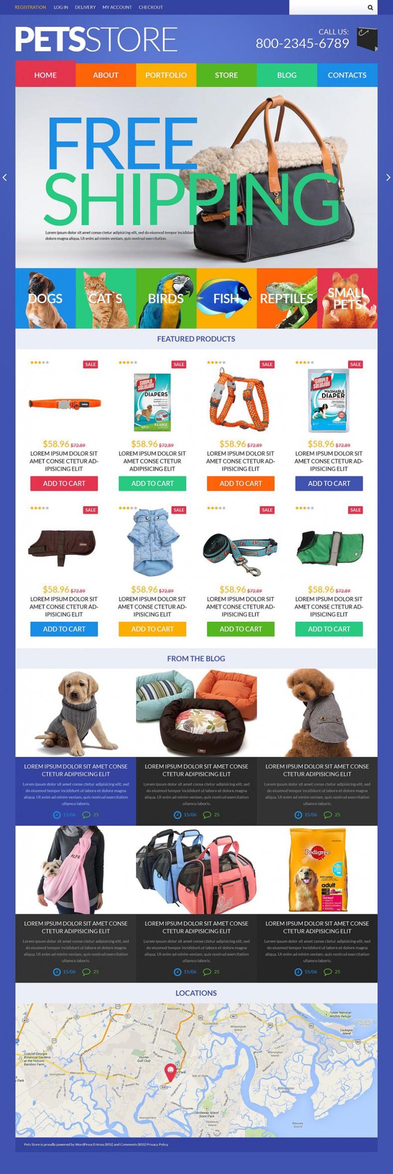 pets store woocommerce theme 788x2352