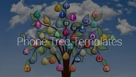 9 printable phone tree templates free word excel pdf for Calling tree template word