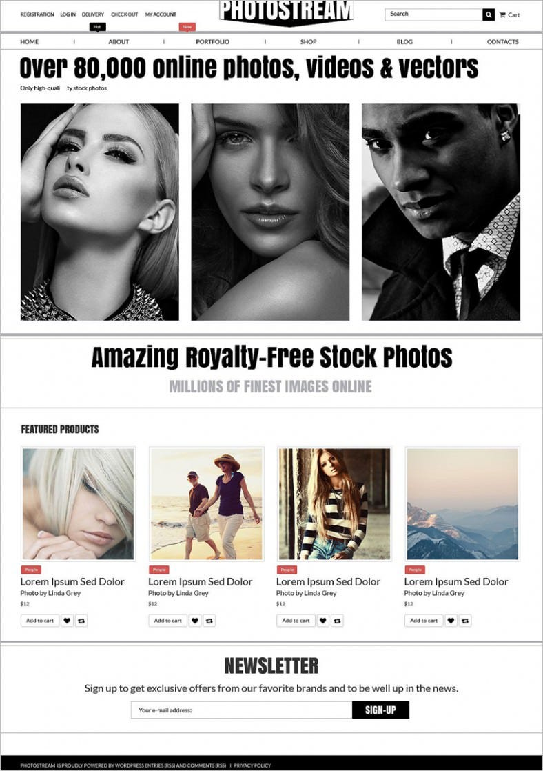 photo stock woocommerce theme 788x1118