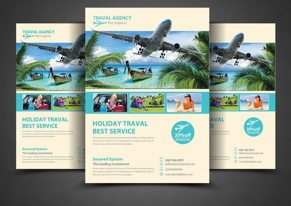 photoshop flyer for travel agency 6