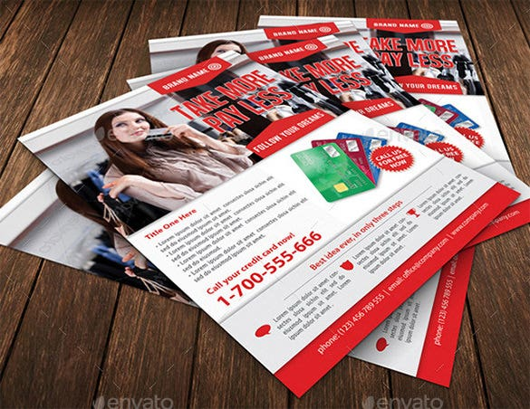 photoshop flyer template for investment company 6