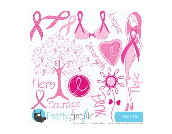 photoshop fundraiser invitation for breast cancer 3