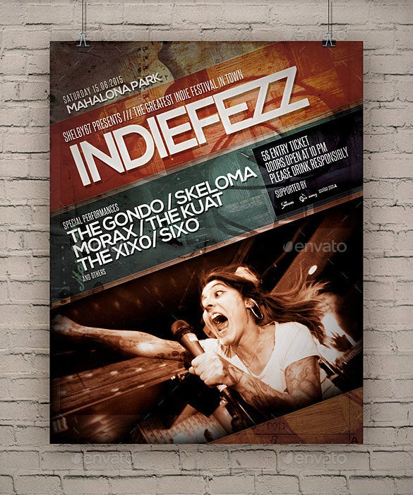 Psd Band Flyer Templates  Designs  Free  Premium Templates