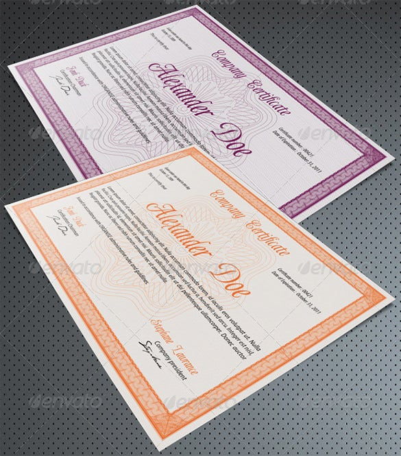 photoshop template for diploma certificate 5
