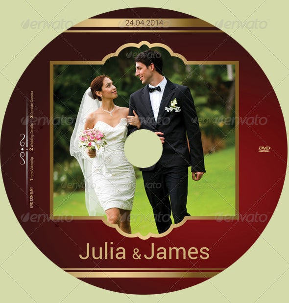 Cd Label Template   Free Psd Eps Ai Illustrator Format
