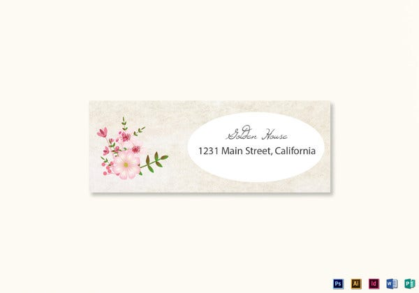 pink-floral-wedding-address-labels-card-template