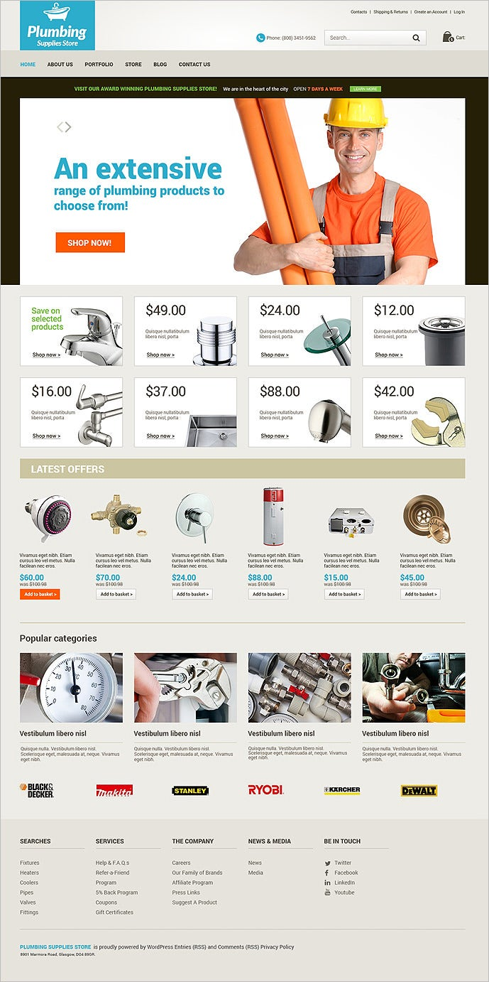 plumbing renovations woocommerce theme1