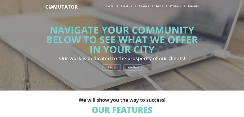powerful joomla template for communication 788x379