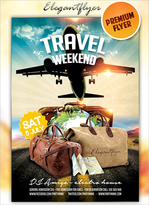 premium flyer for weekend travel 2