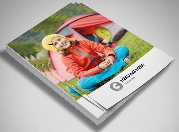 premium flyer template foer summer camp