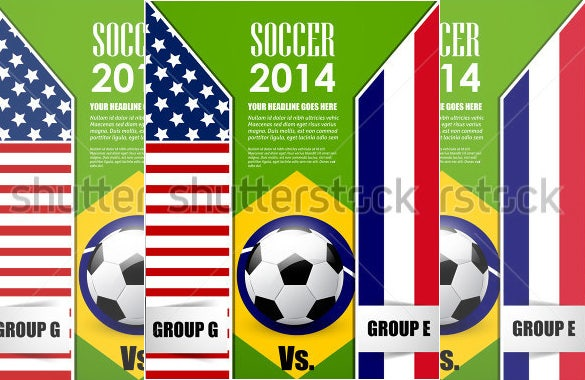 premium flyer template for soccer cup