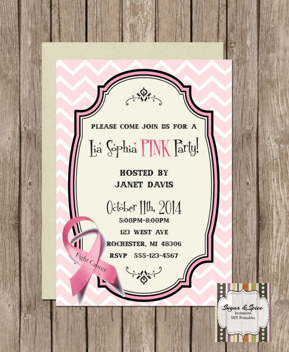 premium template for fundraiser invitation 12
