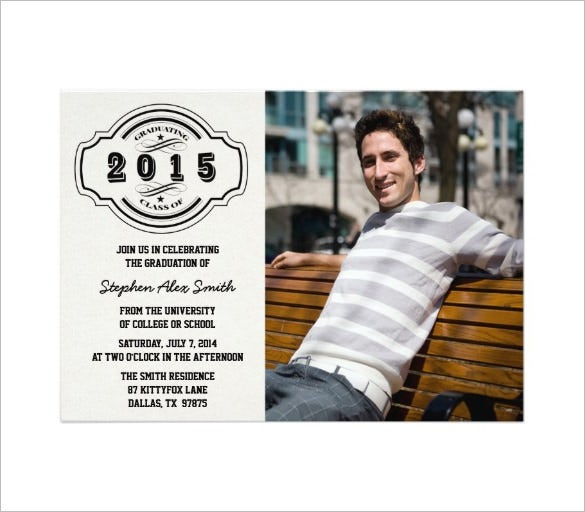 premium template for graduation announcement download