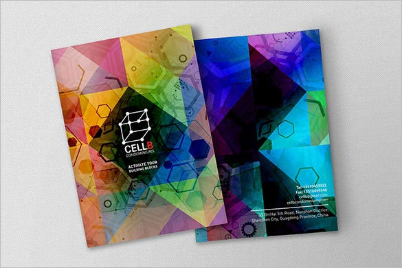 Modern Brochure Design Templates  Psd Indesign Illustration