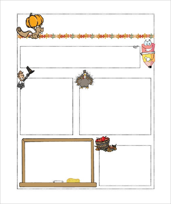 classroom newsletter template april onthemarch co