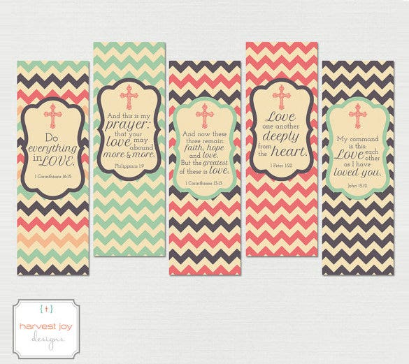 printable bookmarks christian templates