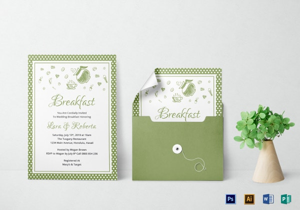 printable breakfast invitation template