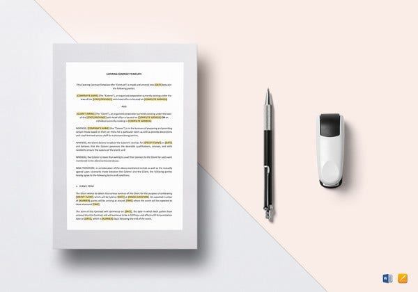 printable-catering-contract-template