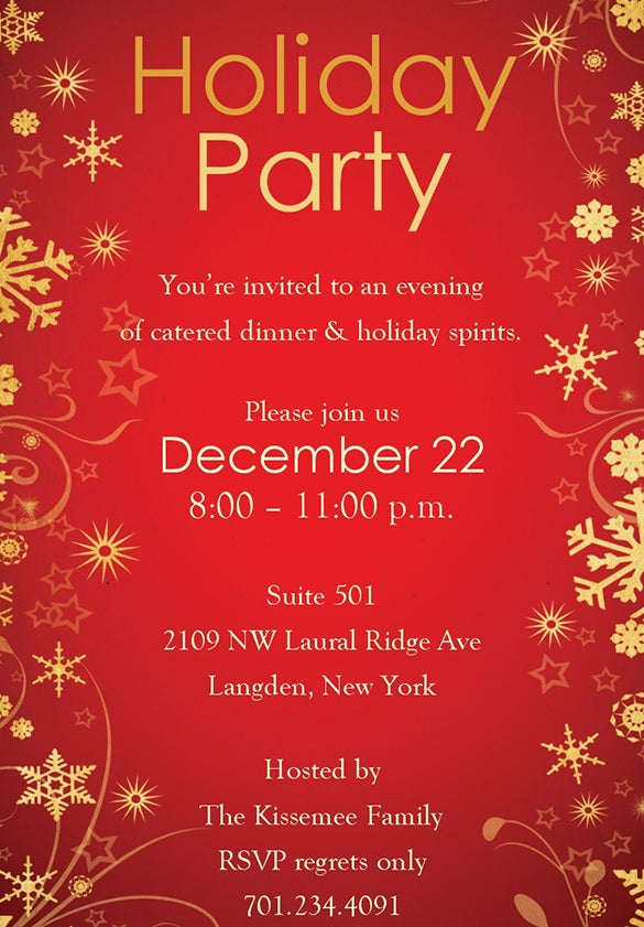 holiday templates free download thelongwayupinfo – Christmas Party Invitation Templates Free Download