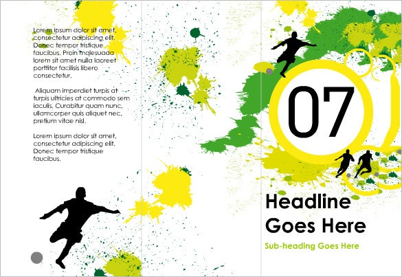 printable soccer flyer template