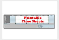 Printable-timesheets