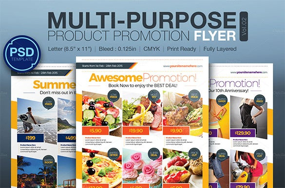 multi photo flyers
