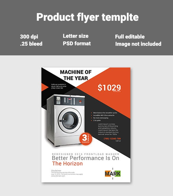 24 product flyer templates psd designs word ai free premium