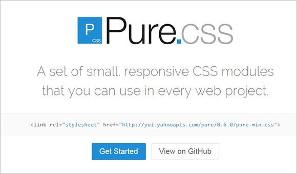 purecss web design software